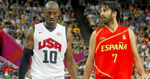 Kobe Bryant ha ganado dos medallas de oro olímpicas ante España.