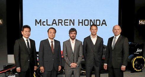 El nuevo McLaren-Honda será presentado on line.