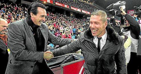 Emery no ha sido capaz de derrotar a Simeone en sus ocho enfrentamientos entre Liga y Copa.