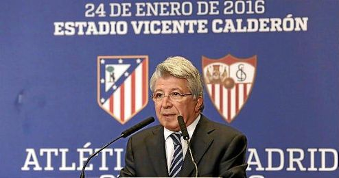 En la imagen, Enrique Cerezo en un acto promocional.