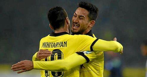 El Dortmund se mantiene a ocho puntos de distancia del líder, el Bayern.