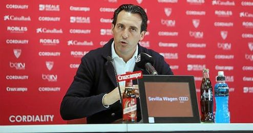 Emery ha analizado la actualidad del Sevilla en sala de prensa.