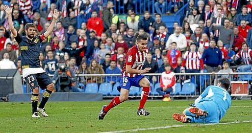 Sergio Rico cuajó un partido sobresaliente en el Calderón.