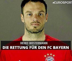 Con este fotomontaje anuncia Eurosport el rumor de Westermann y el Bayern.