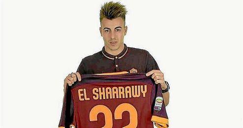 El Shaarawy vuelve a Italia para jugar en la Roma.