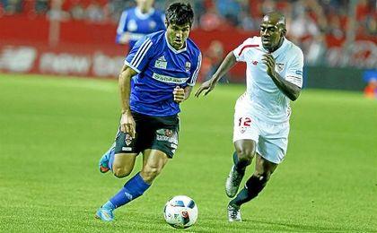Kakuta, en el partido de Copa ante el UD Logroñés.