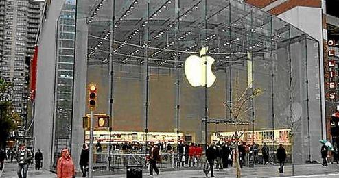Los beneficios de Apple superan los 16.933 millones de euros.