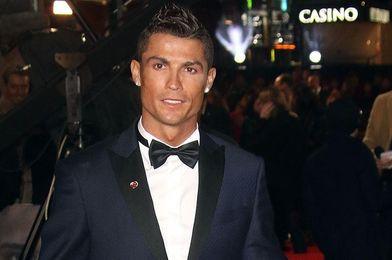 El madridista Cristiano Ronaldo, en un acto en Montecarlo.