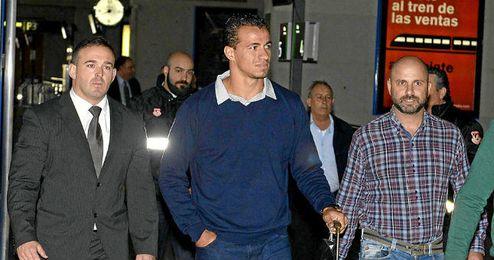 Damiao, a su llegada a Sevilla.