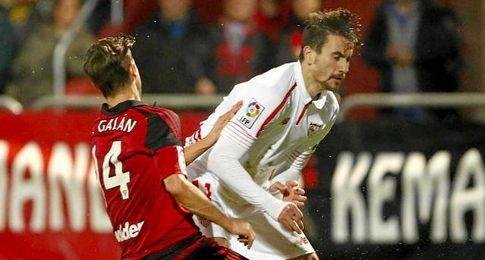 Juan Muñoz anotó el segundo gol del Sevilla en Anduva.