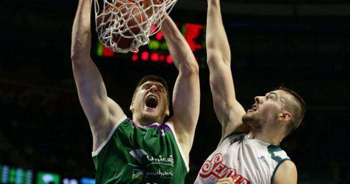 Balvin fue de los mejores en el Baloncesto Sevilla