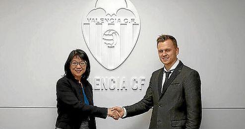 Cheryshev, cedido al Valencia hasta junio.