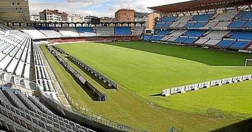 Imagen panorámica de Balaídos, estadio del Celta de Vigo.