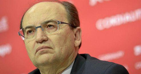 José Castro estuvo presente en la presentación de Fazio.
