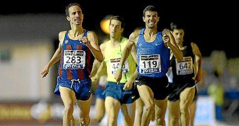 El sevillano Manuel Olmedo queda quinto en 1.500 con una marca de 3:41.58