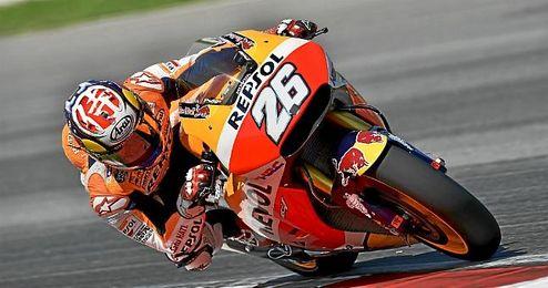 El piloto español de MotoGP Dani Pedrosa