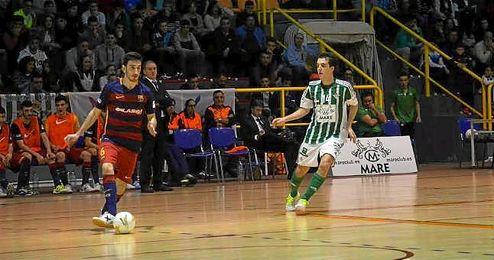 Imagen del encuentro ante el FCBarcelona Lassa B.