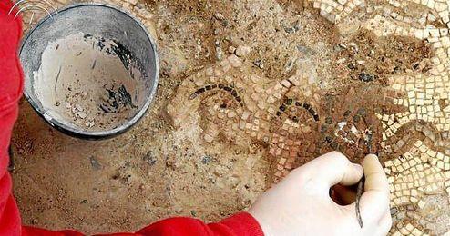 El Mosaico de Medusa se encuentra ubicado en It�lica.