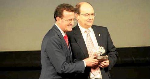 José Castro, en los XVI Premios Periodistas Deportivos de Andalucia.