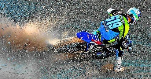 Antonio Aparicio (Yamaha Castro), en el estreno del Campeonato de Espa�a.