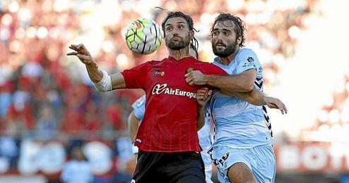 Fran Cruz, en un partido de esta temporada ante el Mallorca.