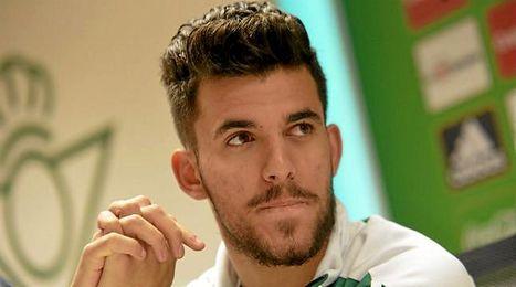 Dani Ceballos, durante la rueda de prensa.
