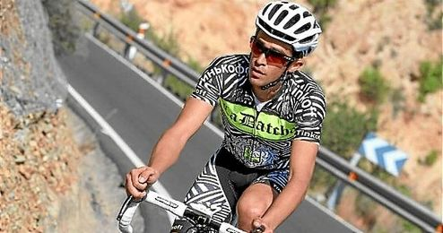 Alberto Contador, durante la pretemporada con el equipo Tinkoff.