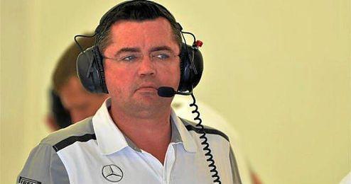 En la imagen, el director de McLaren Honda, Eric Boullier.
