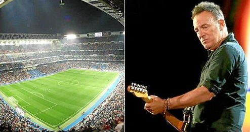 Bruce Springsteen ofrecerá un concierto en el Bernabéu el día 21 de mayo.
