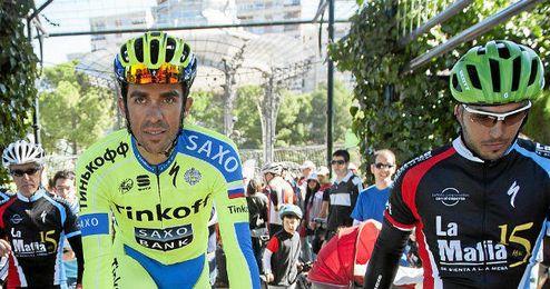 En la imagen, Alberto Contador.
