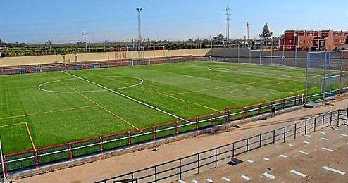 Imagen panorámica del Estadio Municipal de Brenes.