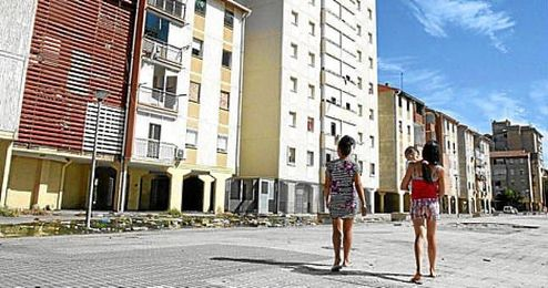 Imagen del barrio del Pol�gono Sur, lugar donde proceden los hechos.