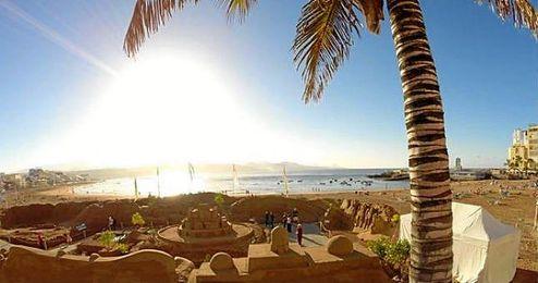 Las Islas Canarias han gozado de una temperatura casi veraniega en Enero.