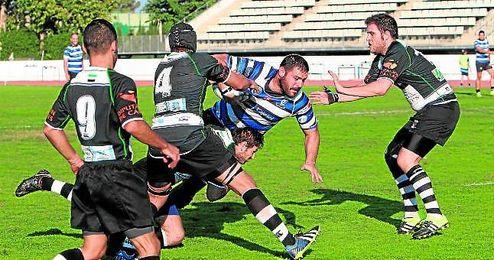 Alejandro Ortega (Ciencias Fundaci�n Cajasol) es el m�ximo realizador de la Divisi�n de Honor B del rugby nacional con 19 ensayos convertidos.