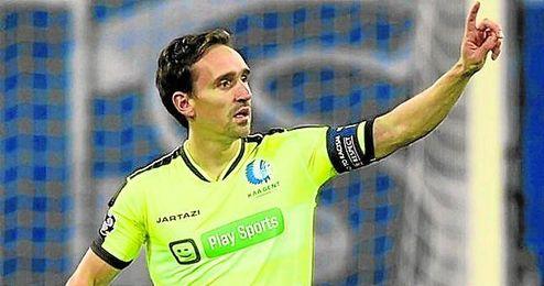 Sven Kums vio porter�a en el partido de Champions ante el Wolfsburgo.