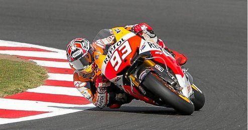 En la imagen, el piloto espa�ol Marc M�rquez.