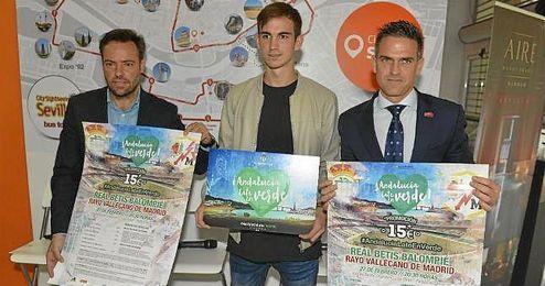 El Betis ha presentado la promoci�n �Andaluc�a late en verde�.