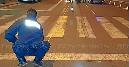 Imagen de loa agentes de policía trasladados hasta el lugar de los hechos.