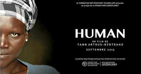 Imagen corporativa del documental ´Human´, de Yann Arthus-Bertrand.