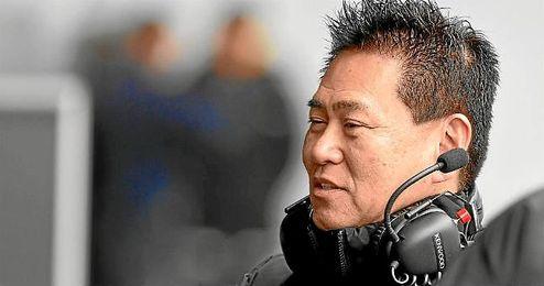En la imagen, el responsable del programa de F1 de Honda, Yasuhisa Arai.