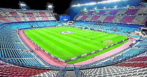 El Calder�n es el segundo estadio que m�s finales de Copa ha albergado, doce.