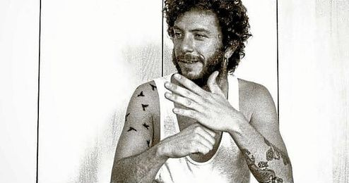 En la imagen, el cantautor gaditano Juanito Makand�.
