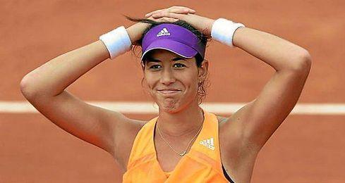 La tenista española, quinta del mundo fue incapaz de frenar el gran comienzo de la tenista alemana.