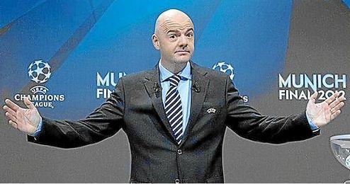 Gianni Infantino quiere ser presidente de la FIFA