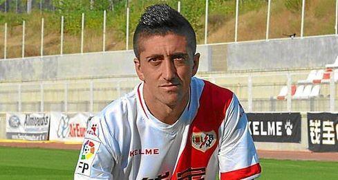 """""""Compartimos tres años en el Valencia, en los que tuvimos una relación cordial y buena"""", destacó el jugador del Rayo."""