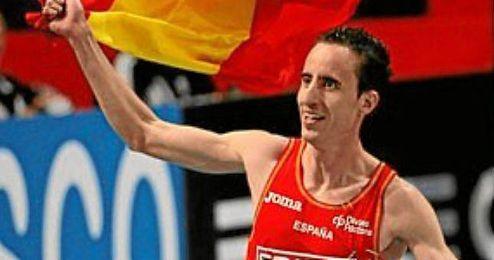 Olmedo batió, el mes pasado, el récord de España de 1.000 metros en Antequera (2:18.24).