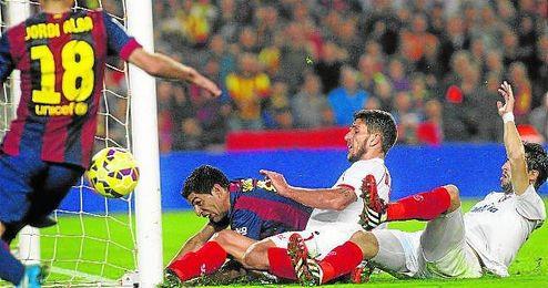 Imagen del partido de la temporada pasada en el Camp Nou.