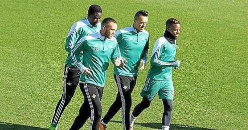 Foued Kadir no se ha entrenado con sus compañeros.
