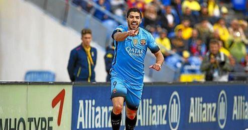 Luis Suárez lleva 41 goles esta temporada.