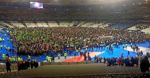 Imagen del encuentro entre Francia y Alemania de la noche de los atentados de París.